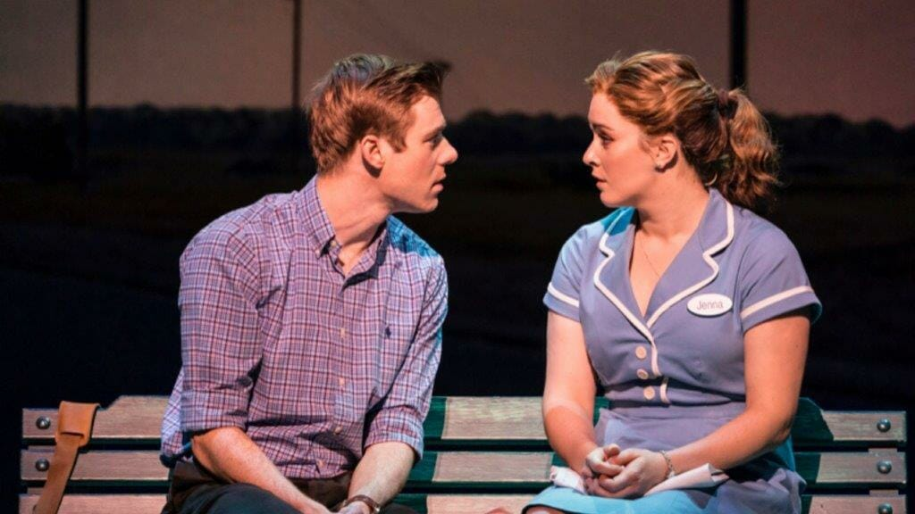 David Hunter and Lucie Jones in Waitress c. Johan Persson