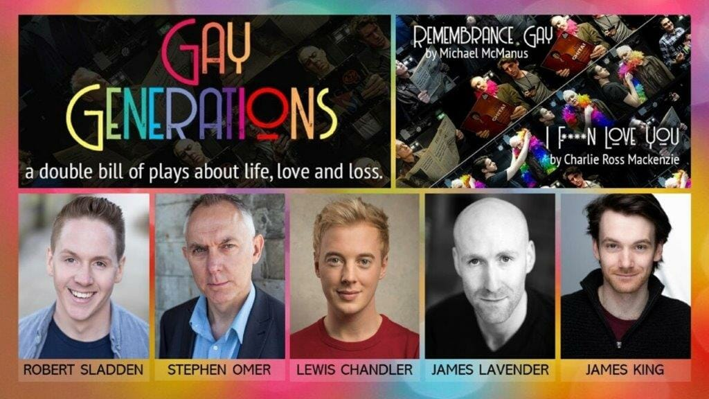 Gay Generations at White Bear Theatre