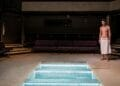 Josh Zaré in THE MIKVAH PROJECT by Josh Azouz Orange Tree Theatre photo by The Other Richard