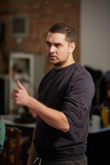 Oliver Kaderbhai Director. photo by Mark Douet