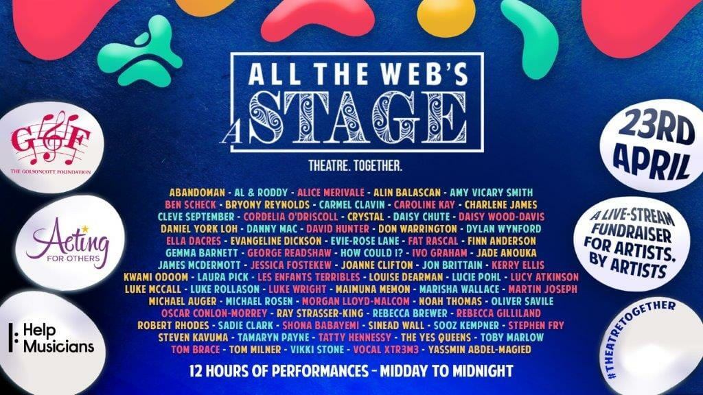 All the Webs a Stage Line Up