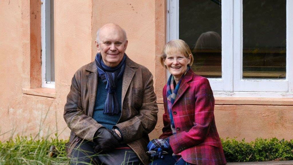 Alan Ayckbourn and Heather Stoney ©Tony Bartholomew