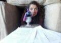 Lizzie Muncey recording