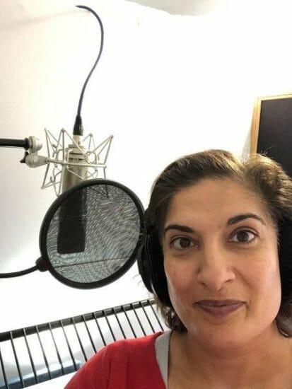Mina Anwar recording