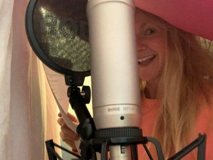 Sarah Hadland recording