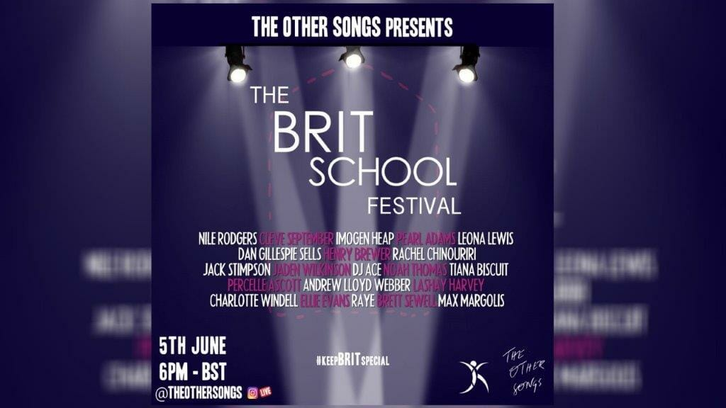 The Other Songs Brit School Festival