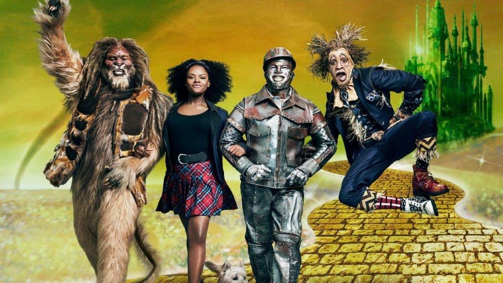 David Alan Grier as Lion Shanice Williams as Dorothy Ne Yo as Tinman Elijah Kelley as Scarecrow Photo by Kwaku AlstonNBC