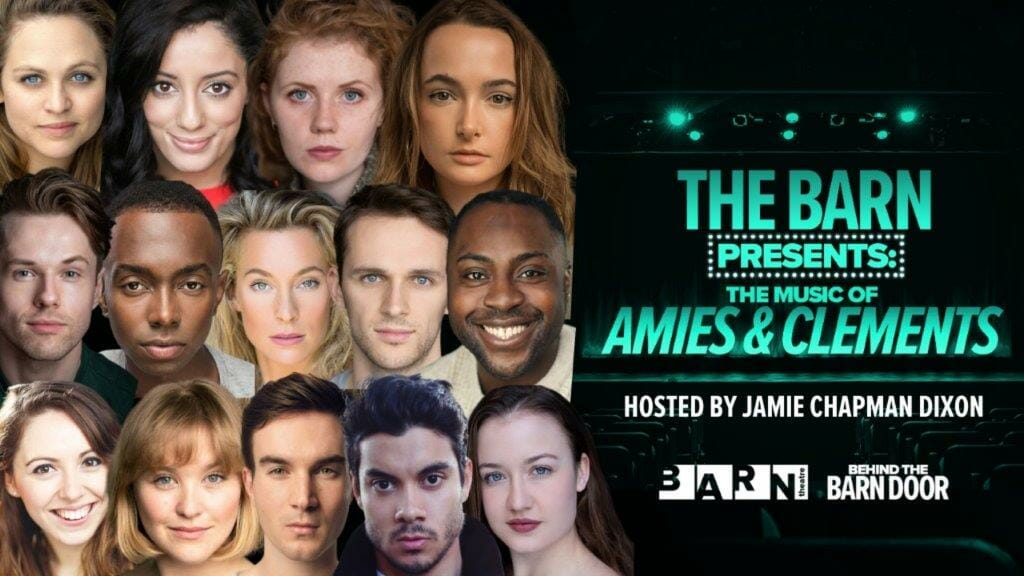 Line up for The Barn Theatre Presents The Music of Amies Clements