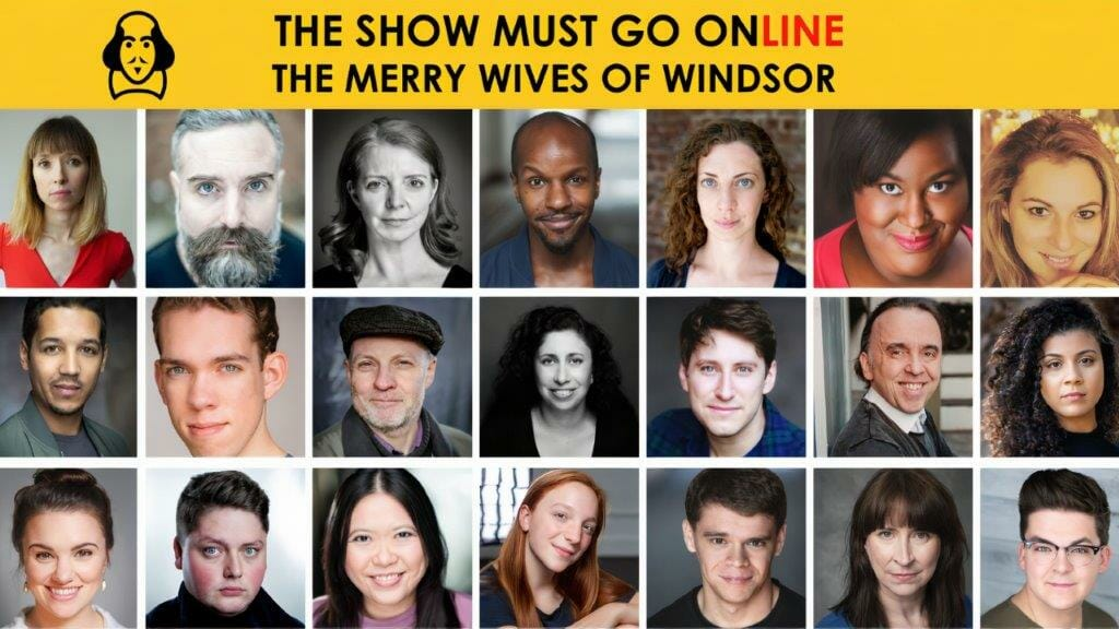 The Cast of The Merry Wives of Windsor