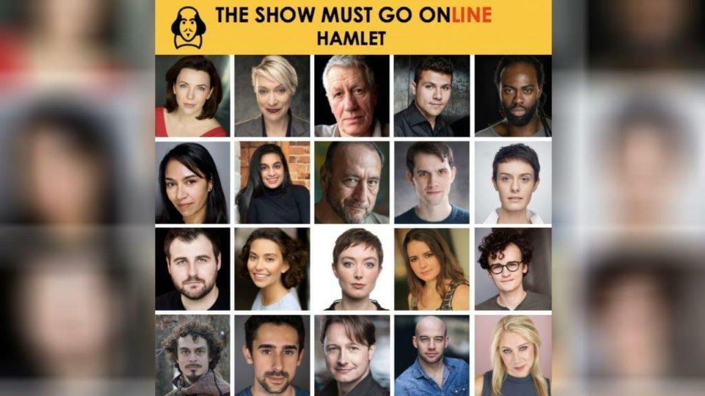 Cast of The Show Must Go Onlines Hamlet