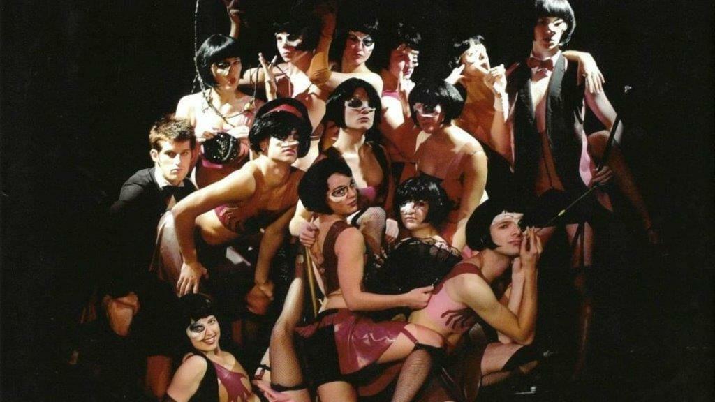 Eddie Redmayne in Cabaret at Big Belly Underbelly Fringe