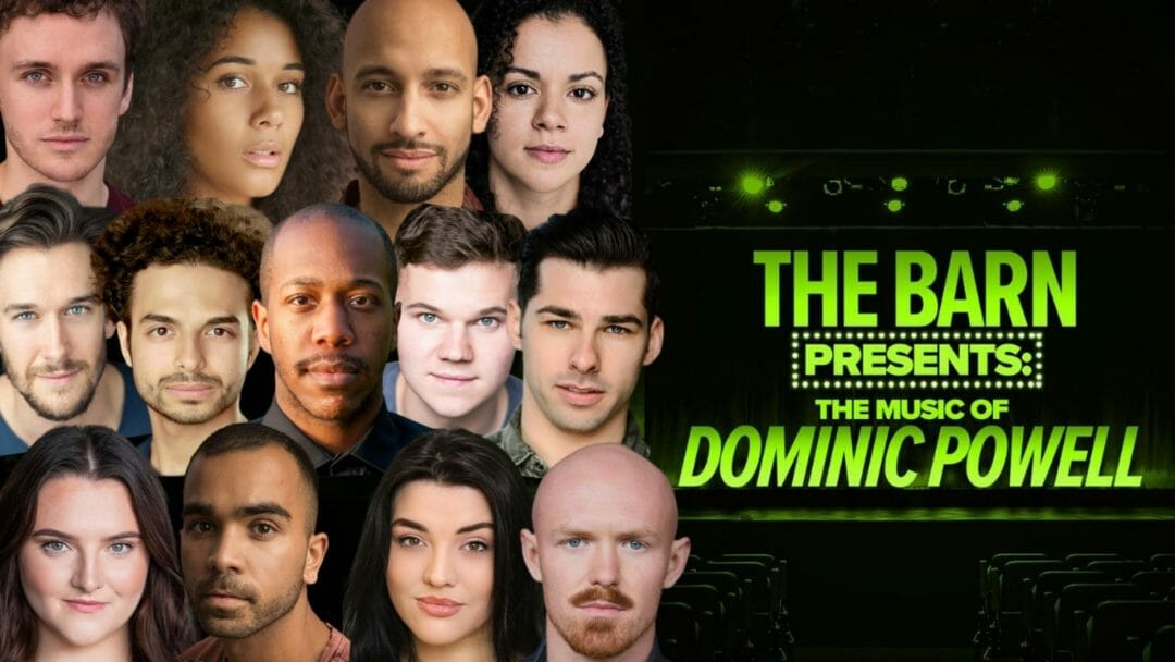 The Barn Theatre Presents The Music of Dominic Powell