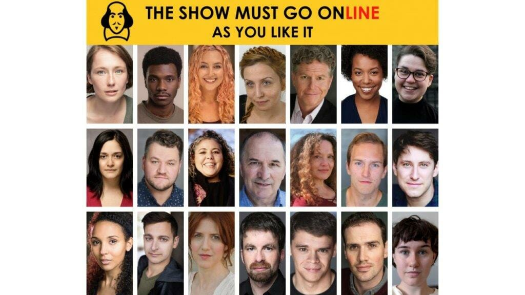 The Cast of The Show Must Go Ons As You Like It