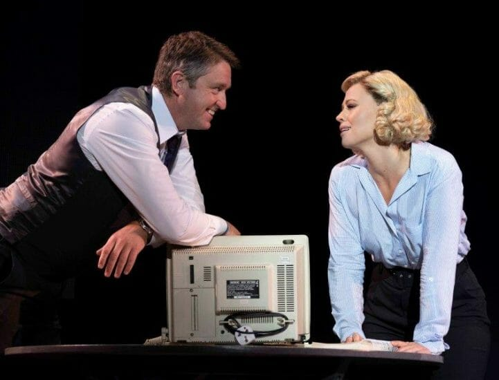 Daniel Casey as Walter Kimberley Walsh as Annie credit Alastair Muir