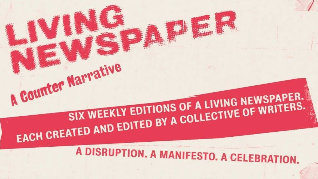 Living Newspaper Royal Court