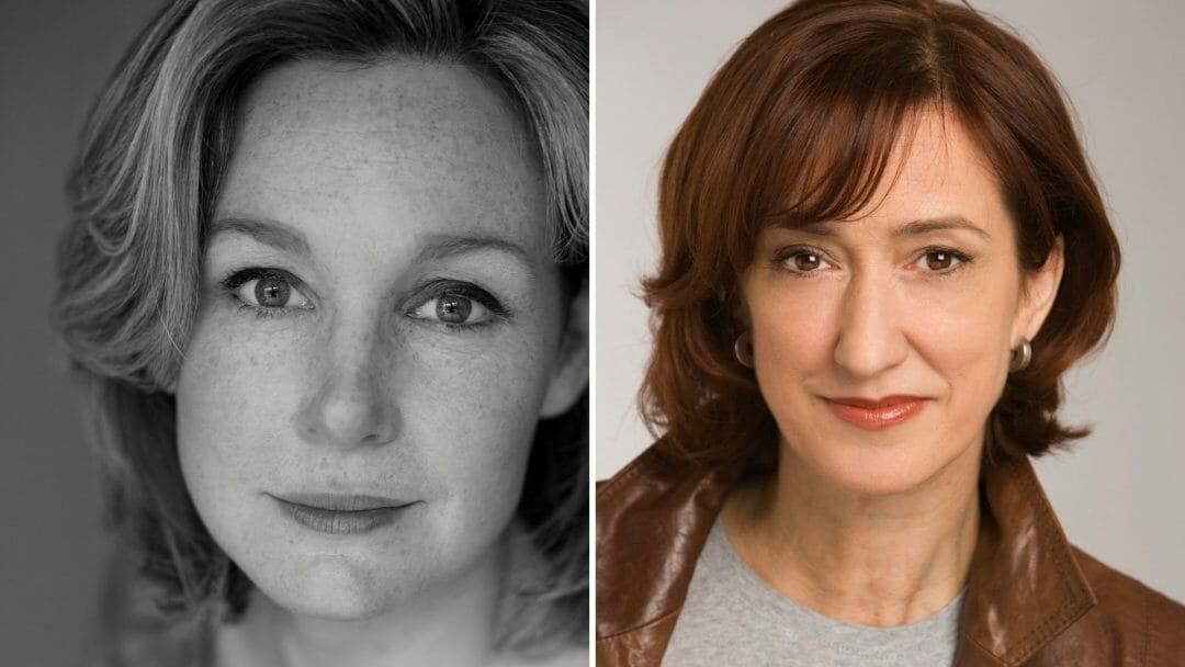 Nancy Carroll and Haydn Gwynne