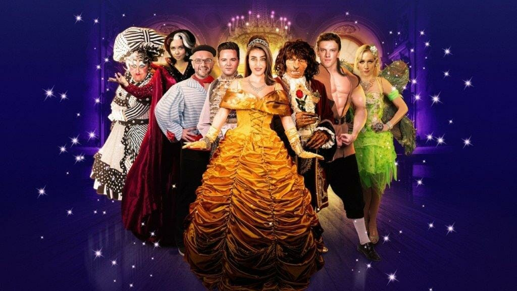 St Helens Beauty And The Beast cast image Dec
