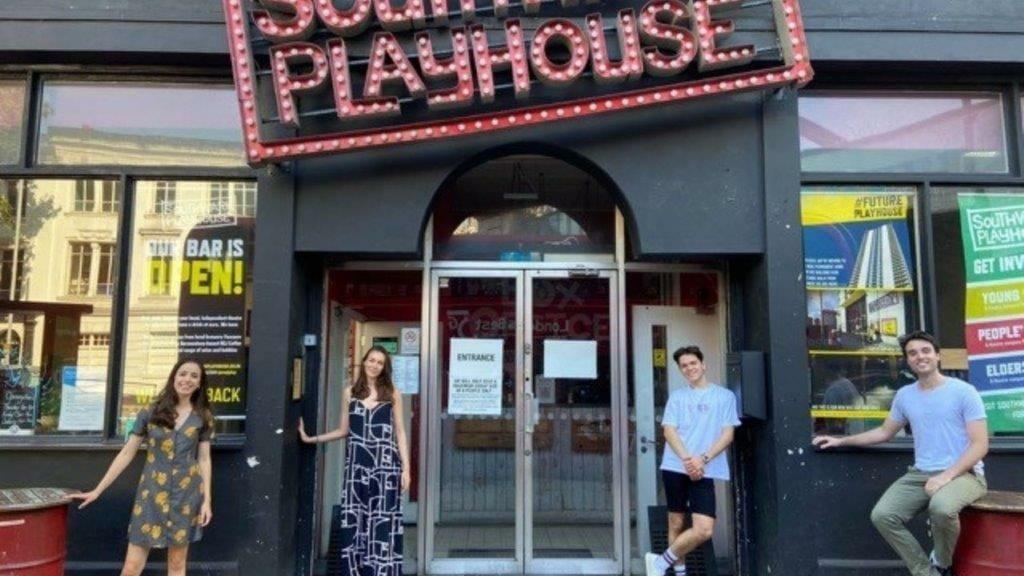 The Last Five Years cast Molly Lynch Oli Higginson and understudies Lydia White Josh Barnett