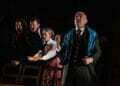 Zach Lee Gabriel Utterson and company in Blackeyed Theatres Jekyll Hyde. Photo Alex Harvey Brown