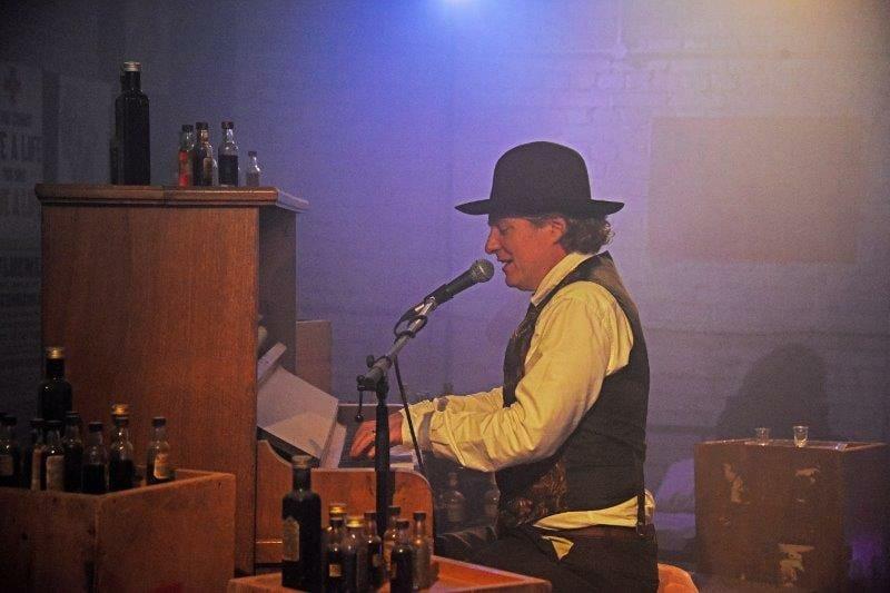 One Night Records Lockdown Town Stage BlackWhite Dom Pipkin Credit Nobby Clark