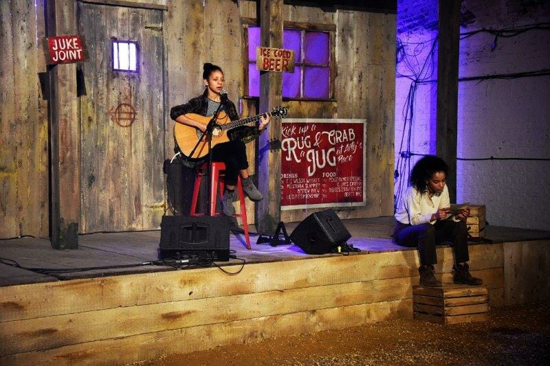 One Night Records Lockdown Town Stage Dustbowl Simeon Hammond Dallas Credit Nobby Clark