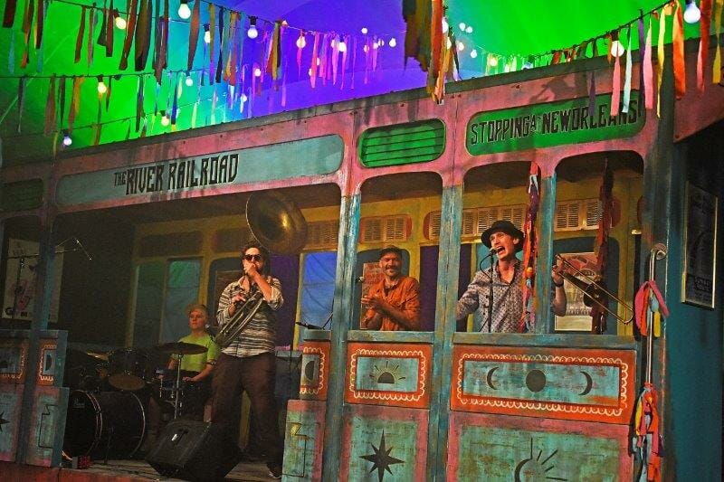 One Night Records Lockdown Town Stage The River Gator Dog Snappers Credit Nobby Clark