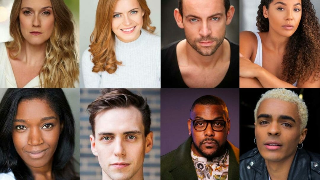 The cast of West End Musical Christmas – Live At The Palace Theatre