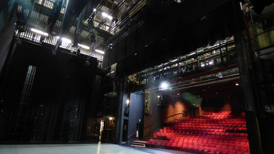 Theatr Clwyd Auditorium from wings
