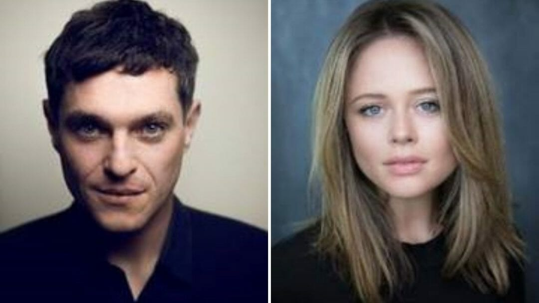 Matthew Horne and Emily Atack