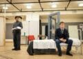 The Dumb Waiter Image L R Shane Zaza Alec Newman Copyright Helen Maybanks