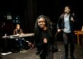 Cassandra Hercules and Akshay Khanna The Wolves of Willoughby Chase Rehearsals credit Lidia Crisafulli