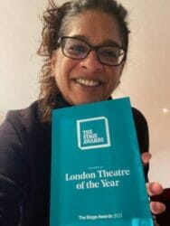 Indhu Rubasingham Kiln Theatre London Theatre of the Year The Stage Awards