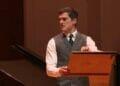 Liam Doyle Gatsby A Musical Cadogan Hall courtest of WebGig Live