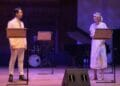 Ross William Wild and Jodie Steele Gatsby A Musical Cadogan Hall courtest of WebGig Live